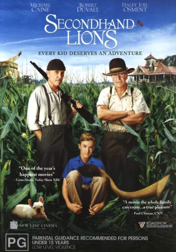 second hand lions A description of tropes appearing in secondhand lions in this 2003 film set in the 1960s, walter, played by haley joel osment, is dumped off on his great.