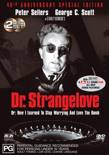 What Are Dts >> Dr. Strangelove: 40th Anniversary Edition (1964)