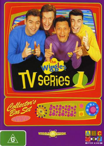 The wiggles tv series 1 2004 cover art sciox Choice Image