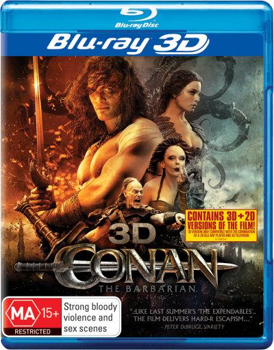 Conan the Barbarian (2011) (Blu-ray)