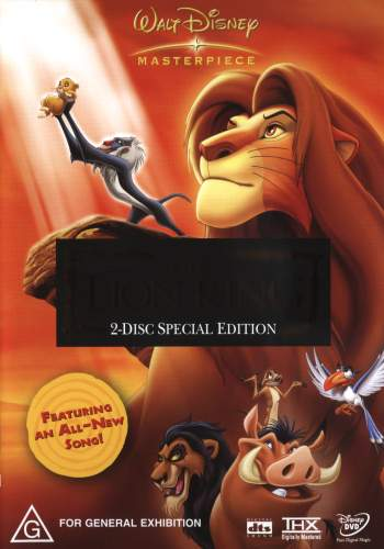 the lion king  special edition  1994