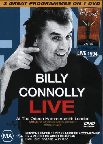 Billy Connolly Live At The Odeon Hammersmith London Live 1994