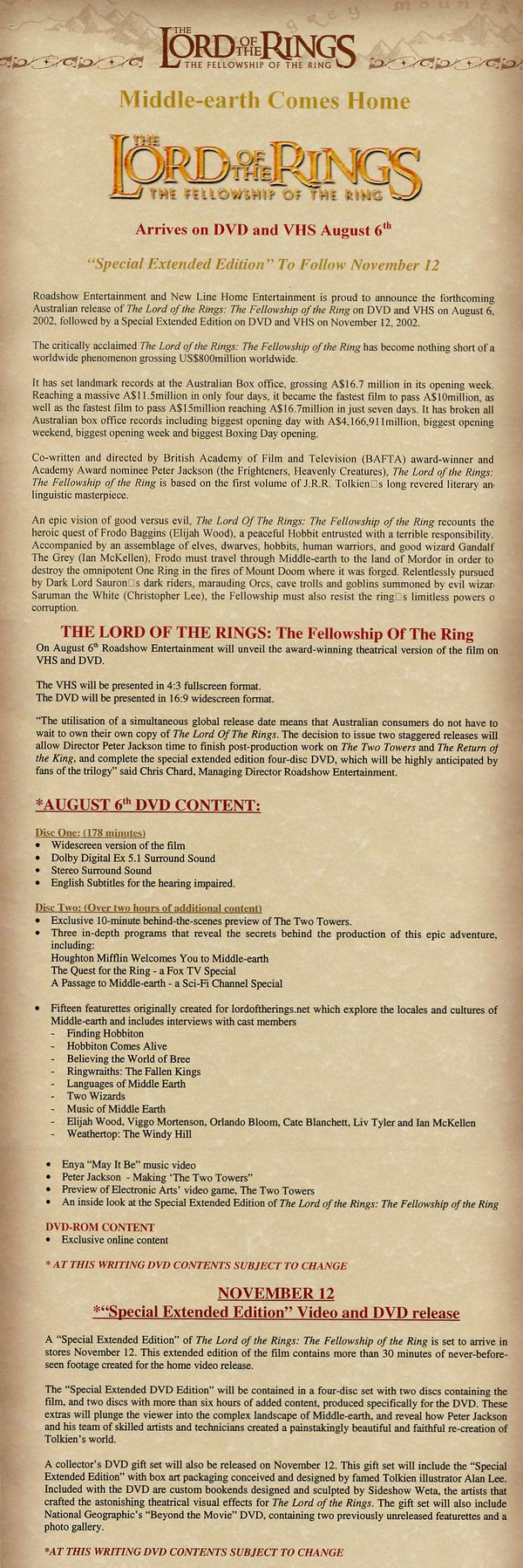 the corruption of power in the fellowship of the ring Article on how jrr tolkien used the idea of corruption in the lord of the rings for corruption, and plague the fellowship ring will grant that power.